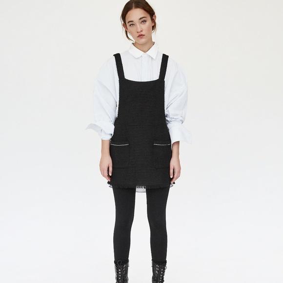 bc916b95 Zara Dresses | Nwt Tweed Dungaree Mini Skirt | Poshmark